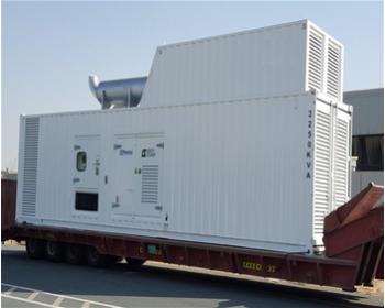 للبيع مولد كهرباء 2000kva جديد كاتم صوت كونتينر