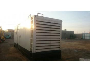 للبيع/للأيجار مولد كهرباء كاتم 3406 موديل 2008  قدرة 400kva