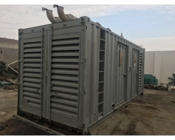 للبيع مولد كهرباء كمنز 625kva / 550 kva كاتم